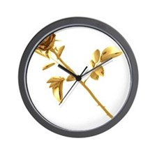 Gilded Rose Wall Clock
