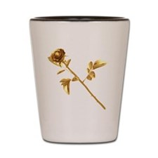 Gilded Rose Shot Glass