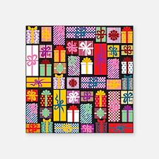 "Gift Square Sticker 3"" x 3"""