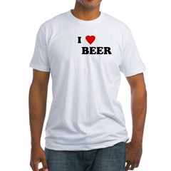 I Love BEER Shirt