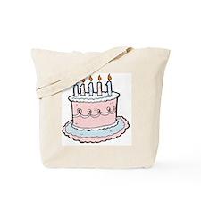 cartoon cake Tote Bag