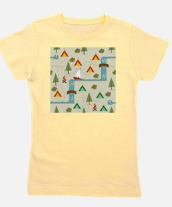 Camping Site Girl's Tee
