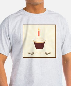 Happy Birthday Cake Greeting T-Shirt
