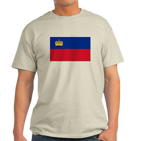 Liechtenstein Flag T Shirts Light T-Shirt