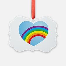 Gay Love Heart Ornament