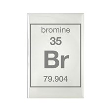 Bromine Rectangle Magnet