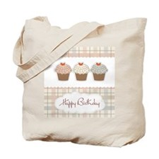 Happy Birthday cupcakes Tote Bag
