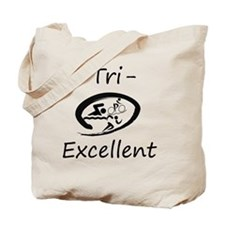 Tri-Excellent Logo Tote Bag