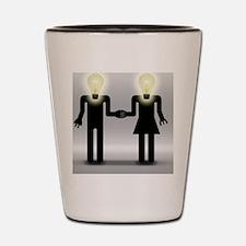 Love And Idea Shot Glass