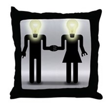 Love And Idea Throw Pillow