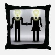 Love And Idea Throw Pillow