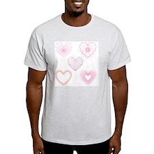 Lace Hearts T-Shirt