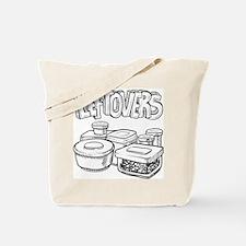 Holiday leftovers food sketch Tote Bag