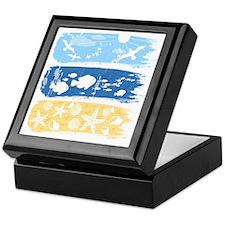 Illustration on a sea theme Keepsake Box