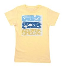 Illustration on a sea theme Girl's Tee