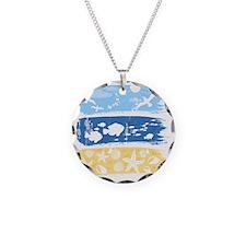 Illustration on a sea theme Necklace