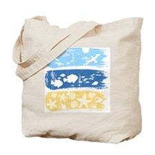 Illustration on a sea theme Tote Bag