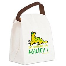 someonesayAGILITY.png Canvas Lunch Bag