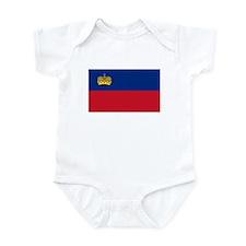 Liechtenstein Flag Infant Bodysuit