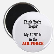ThinkyouretoughmyAUNTisaAIRFORCE Magnets