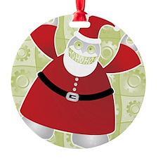 Santabot Says HoHoHo! Ornament