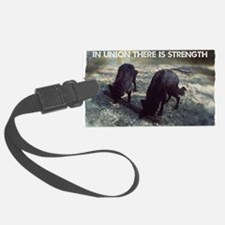 Strength in Union Luggage Tag