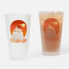 On Cloud Nine - The Perfect Date Drinking Glass