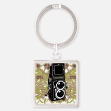 Vintage Camera Square Keychain
