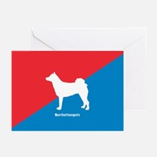 Norrbottenspets Greeting Cards (Pk of 10)