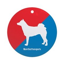Norrbottenspets Ornament (Round)