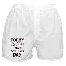 Hot Mess Boxer Shorts
