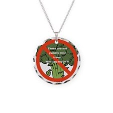 Yummy Mini Trees - Not! Necklace