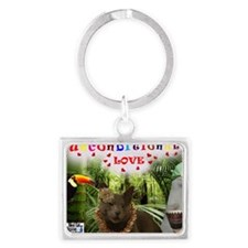 Poppy-in the jungle-Uncondition Landscape Keychain
