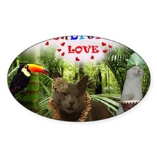 Poppy-in the jungle-Unconditional L Decal