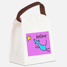 300believe.jpg Canvas Lunch Bag