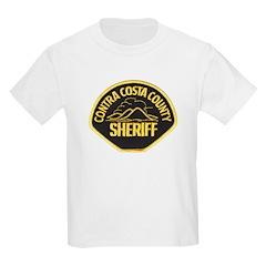 Contra Costa Sheriff Kids Light T-Shirt