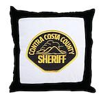 Contra Costa Sheriff Throw Pillow
