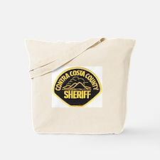 Contra Costa Sheriff Tote Bag