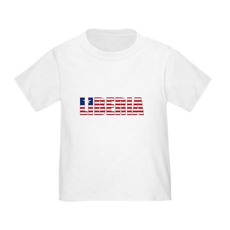 Liberia Toddler T-Shirt