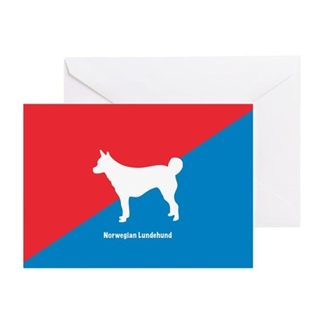Lundehund Greeting Cards (Pk of 10)