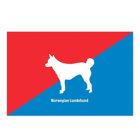 Lundehund Postcards (Package of 8)
