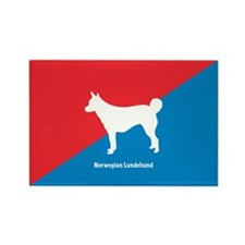 Lundehund Rectangle Magnet (100 pack)