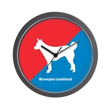 Lundehund Wall Clock