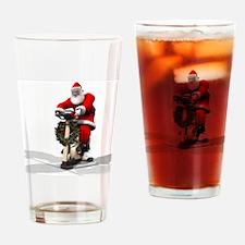 Santa Fitness 2 Drinking Glass