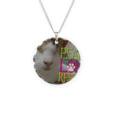 Peace Love Rescue Necklace