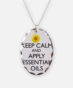 Keep Calm and Apply Essential  Necklace