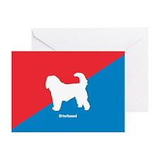 Otterhound Greeting Cards (Pk of 10)