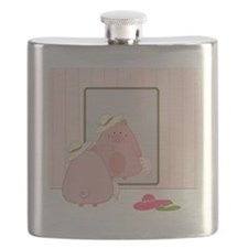 Trying Hats Flask