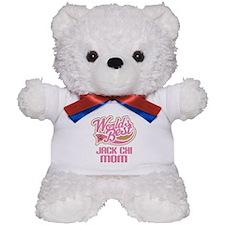Jack Chi Dog Mom Teddy Bear