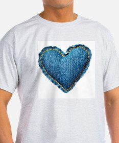 Valentine jeans heart T-Shirt